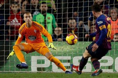Lionel Messi, Ousmane Dembele lead Barca over Celta Vigo