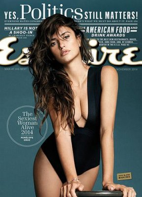 Penelope Cruz named Esquire's Sexiest Woman Alive for 2014