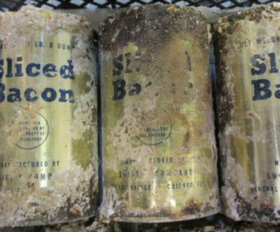Archeologists find U.S. Army bacon and sunscreen tins buried at Salisbury Plain