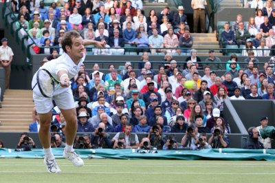 Longshot Gasquet up against top 3 players, history at Wimbledon