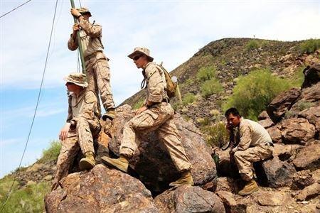 U.S. Marines study: Women in combat injured more often than men