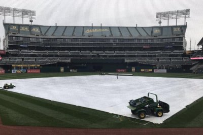 Rain came another day: Oakland A's postponed by rain for first time in 3 years
