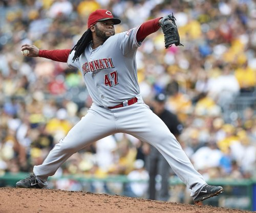 Cueto hopes for a better result against St. Louis Cardinals