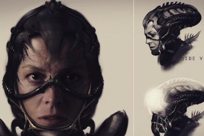 Neill Blomkamp reveals concept art for scrapped 'Alien' sequel