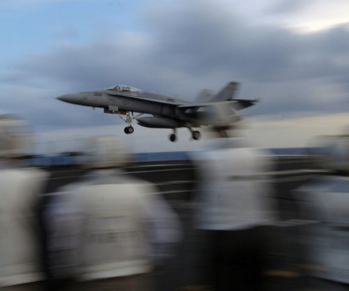 Two sailors injured after jet refueling fire on USS Harry S. Truman