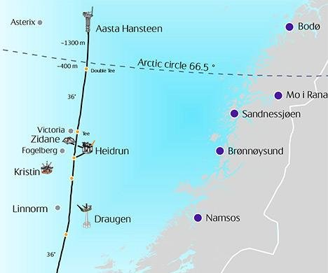 Final leg of new European gas line completed