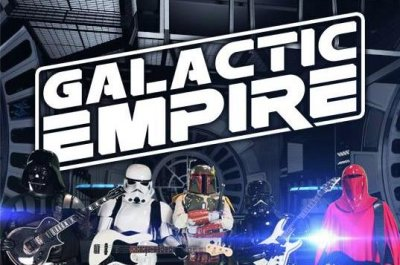 Galactic Empire perform heavy metal version of iconic 'Star Wars' theme