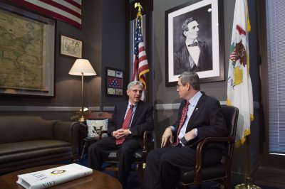 GOP Sen. Kirk says he could approve Garland for Supreme Court