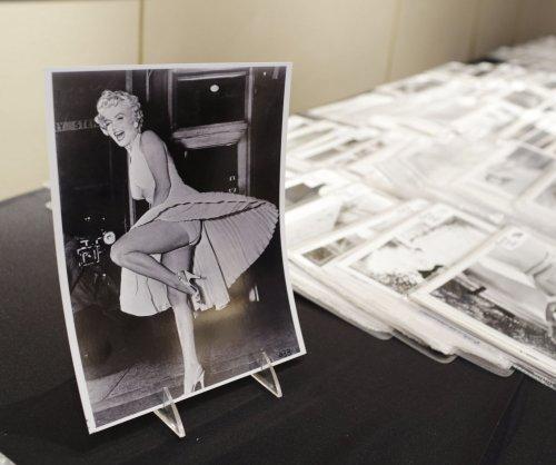 Marilyn Monroe platinum locks, dress and other memorabilia on the auction block