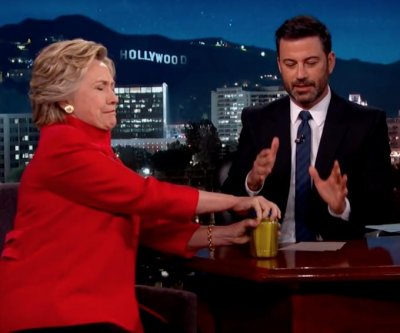 Jimmy Kimmel responds to allegations of Hillary Clinton pickle-fixing