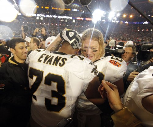 New Orleans Saints re-sign G Jahri Evans