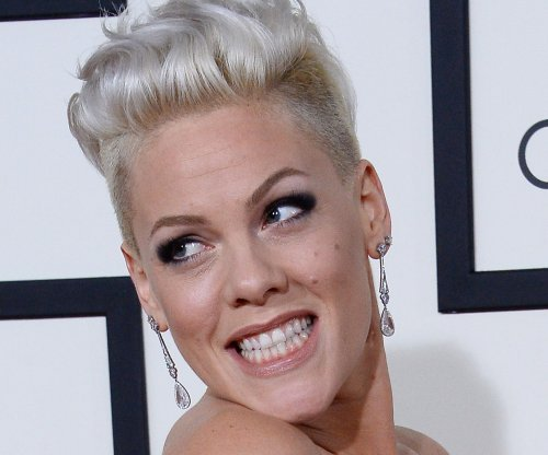 Pink shares first photo of newborn son Jameson