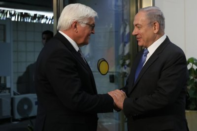 German president says no alternatives to two-state solution in Israel
