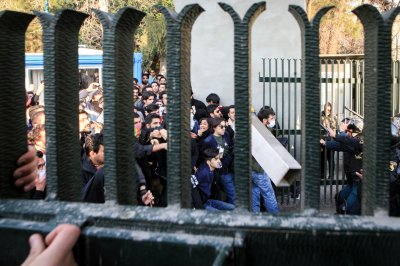 Iran protests turn violent on third day of demonstrations