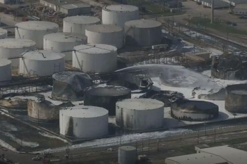 Elevated benzene levels found near Houston plant fire site