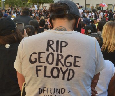 Memorial held for George Floyd in Minneapolis