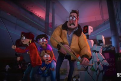 'The Mitchells vs. the Machines' trailer shows family take on robot apocalypse