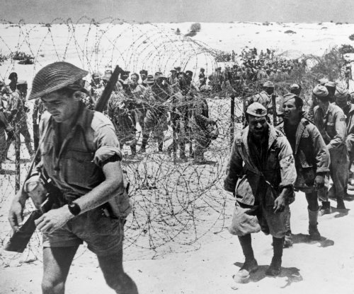 1,450 Axis prisoners taken in North African battle