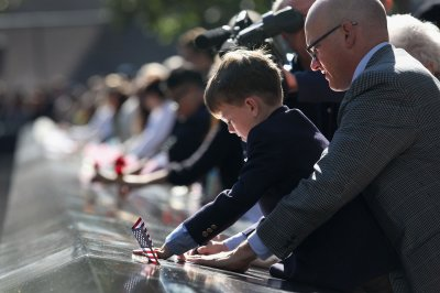 Americans pause to remember Sept. 11, 2001