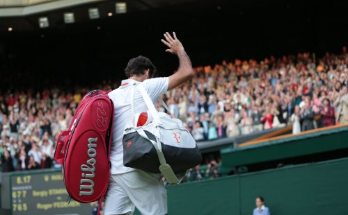 Federer down to No. 5 in rankings for first time since 2003