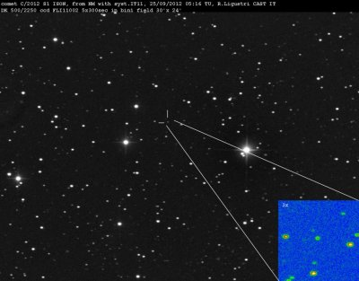 A comet in 2013: Ison headed for spectacular flyover