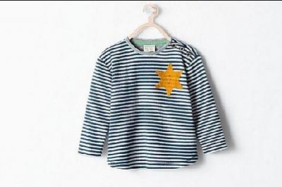 Zara pulls toddler shirt featuring apparent Holocaust star from stores