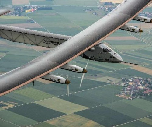 Solar Impulse 2 aircraft readying for 5,000 mile trip without gas