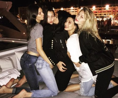 Gigi and Bella Hadid, Kylie and Kendall Jenner party in Monaco