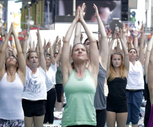 International Yoga Day: 300,000 participate in world's largest yoga session