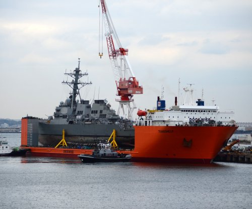 USS Fitzgerald damaged again during transport