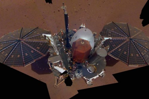 InSight lander snaps its first selfie from the surface of Mars