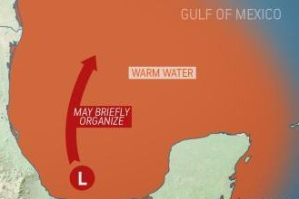 Gulf of Mexico bears watching for tropical development this week