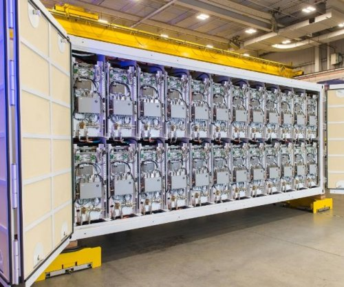 Railgun pulse power modules delivered to U.S. Navy