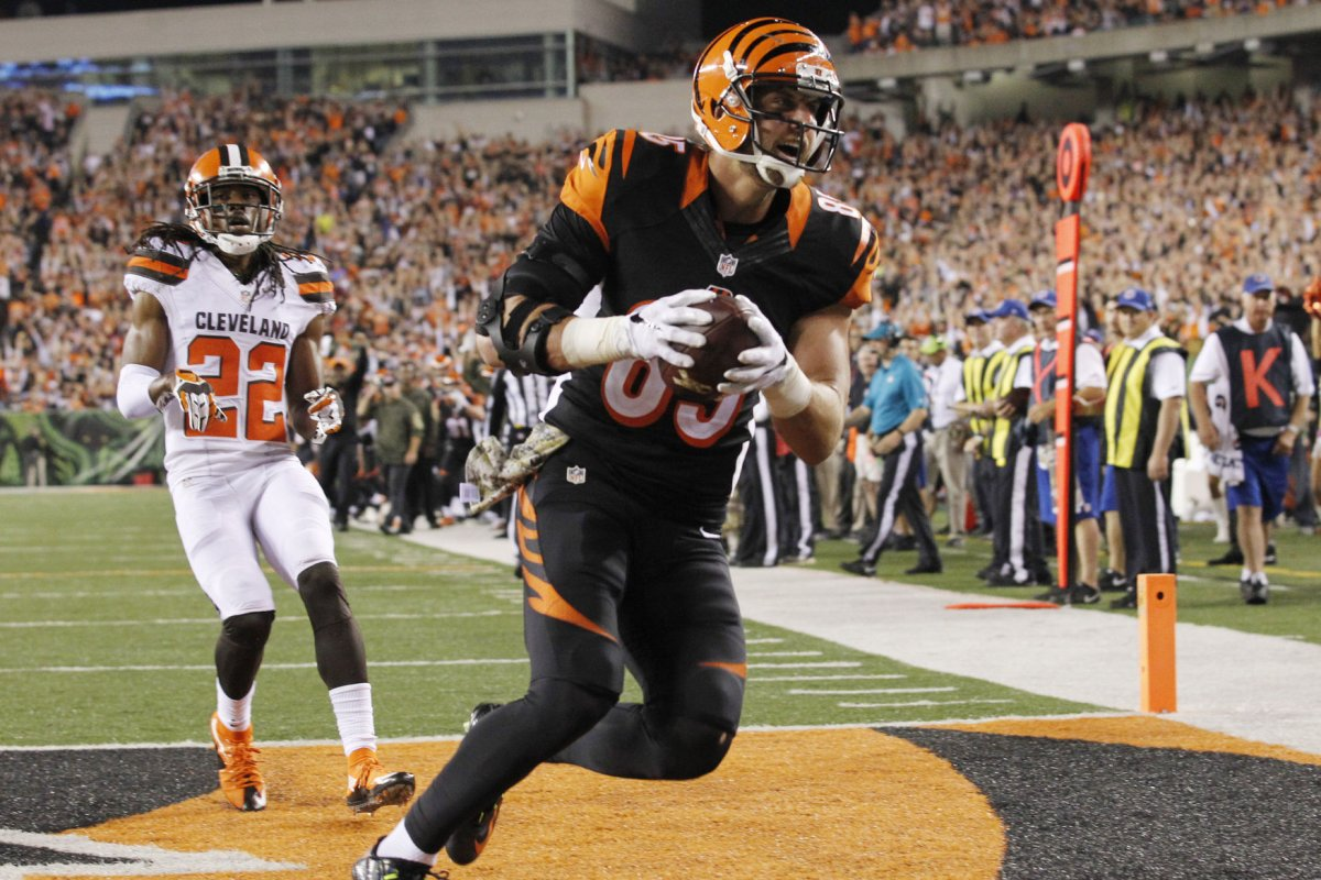 Tyler Eifert aims to return for Cincinnati Bengals opener UPI