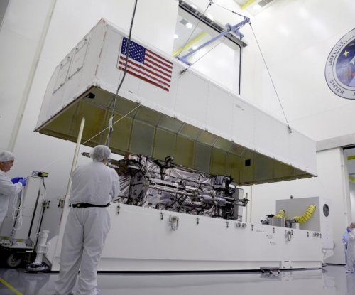 Lockheed Martin assembles third GPS III satellite for Air Force