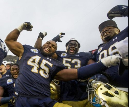 Citrus Bowl: Late touchdown grab lifts Notre Dame Fighting Irish past LSU Tigers