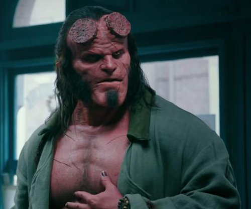 David Harbour fights dark forces in first 'Hellboy' reboot trailer