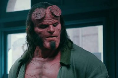 David Harbour fights dark forces in first 'Hellboy' reboot trailer