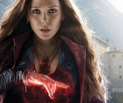Elizabeth Olsen stars in new 'Avengers: Age of Ultron' poster