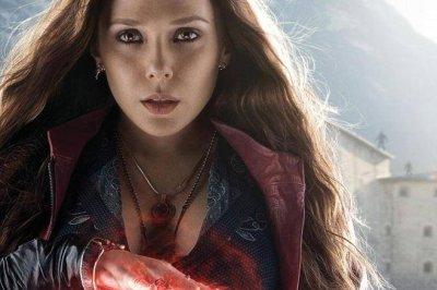 Elizabeth Olsen stars in new 'Avengers: Age of Ultron' poster