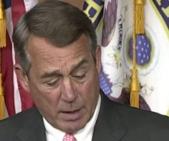 Boehner bombshell: 'I decided today is the day I'm going to do this'