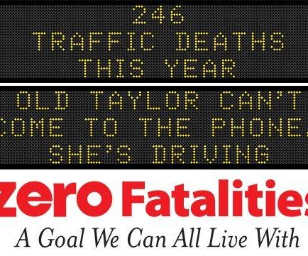 Iowa road signs use Taylor Swift lyrics to warn distracted drivers