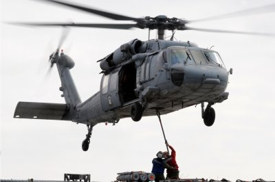 5 missing, 5 injured after U.S. Navy helicopter crashes into sea near San Diego