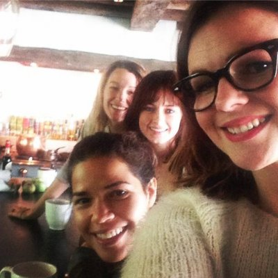 America Ferrera reunites with 'Sisterhood of the Traveling Pants' co-stars