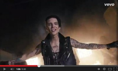 Black Veil Brides debut music video for 'Heart of Fire'