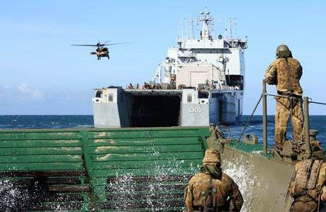 Australia's amphibious ready force makes debut