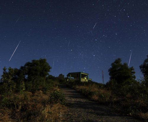 Geminid meteor shower to peak overnight Wednesday