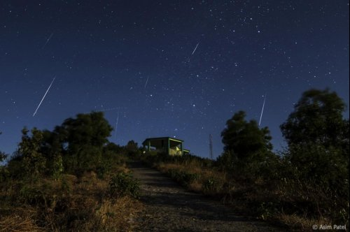 Geminid meteor shower to peak overnight Wednesday