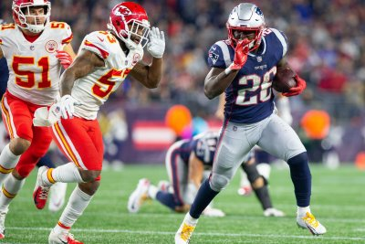 Patriots RB Sony Michel returns to practice