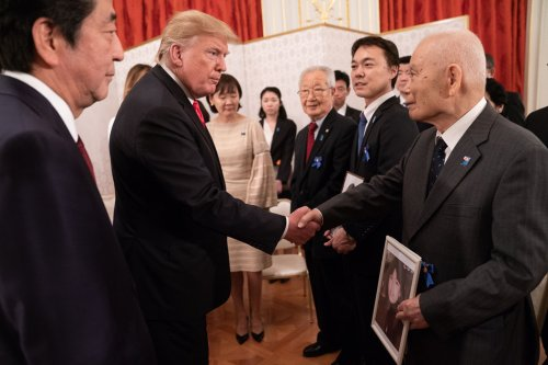 Trump to Japan abductee family: 'You will win'